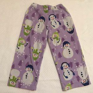 3T Fleece Pajama Pants